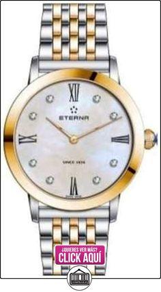 Eterna Para mujer reloj análogo de cuarzo de oro potencia de la batería de dos tonos 2720.53.69.1739  ✿ Relojes para mujer - (Lujo) ✿ ▬► Ver oferta: https://comprar.io/goto/B01MA5D7ZG