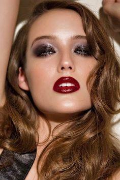 NEW YEAR'S EVE LAST MINUTE IDEAS Mujer: Estilo y Belleza: Maquillaje Fiesta Fin de Año 2015