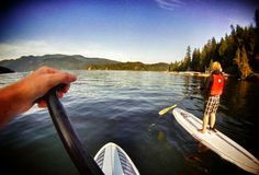 Lake Tahoe SUP - dreamy location! #PaddleBoard