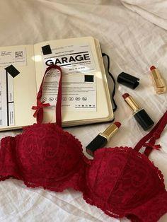 Jolie Lingerie, Lingerie Outfits, Pretty Lingerie, Luxury Lingerie, Lingerie Set, Red Aesthetic, Character Aesthetic, Aesthetic Clothes, Casual Outfits