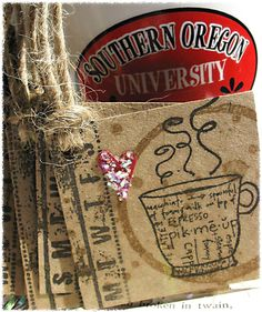 Coffee Lover Rustic Gift Tag Set