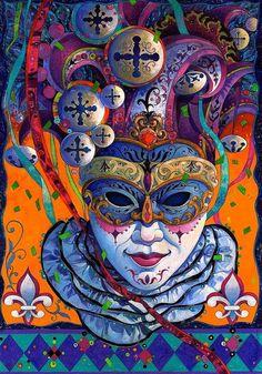 Mardi Gras ~ David Galchutt