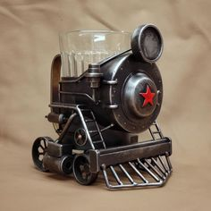 Burr Coffee Grinder, Mo Money, Curiosity Shop, Hobby Trains, Steampunk Design, Metal Art, Projects To Try, Cool Stuff, Crafts