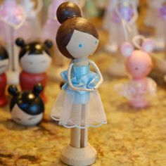 restlessrisa: Nutcracker 2012 - Nutcracker Clothespin Dolls