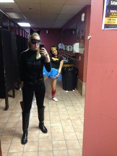 Halloween bathroom style
