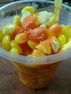 Sweet corn - yummy street food from the Philippines