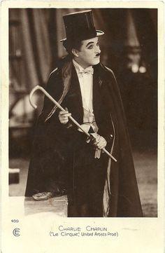 Charles Chaplin. YES.!!!