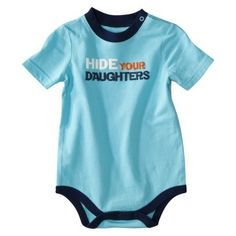 Circo® Newborn Boys Bodysuit - Turquoise - Click image to find more Kids Pinterest pins