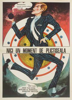 25 dintre cele mai frumoase postere de film din România Comunistă - VICE 1. Mai, Vintage Travel Posters, Romania, Old School, Art Deco, Bucharest, Retro, Movies, Movie Posters