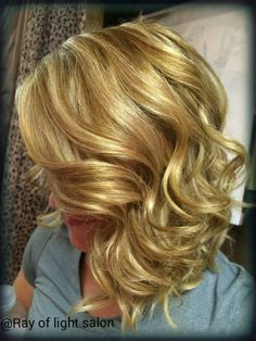 Gorgeous color and Haircut #blondehair #kenra #RayofLightSalon