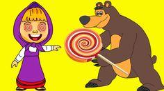 Masha Crying Bear Spiderman vs Dora her Lollipop candy, PJ Masks