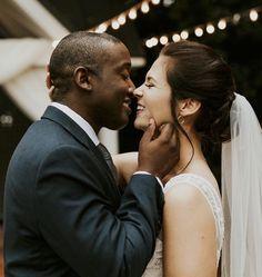 Interracial Family, Interracial Marriage, Interracial Wedding, Funny Wedding Photos, Vintage Wedding Photos, Vintage Weddings, Black Man White Girl, Wedding Dj, Wedding Shot