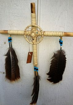 Cherokee Cross by TwoFeathersTrading on Etsy, $18.00