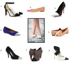 Sense & Sequins: Cap Toe Shoes