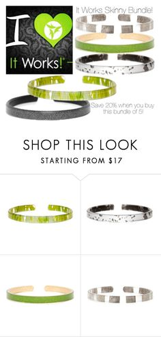 """""""I Heart It Works Bundle"""" by kaliedacolor ❤ liked on Polyvore featuring showyourcolors, ItWorks, cbastyle and skinnybundle"""