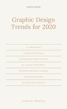 Graphic Design Trends For 2020 As we enter a new decade I want to share a few design predictions coming to brands and business owners Learn more at www jordanprindle graphicdesign graphicdesigntips - Web Design, Graphic Design Trends, Corporate Design, Graphic Design Typography, Typography Logo, Brand Design, Fashion Typography, Creative Design, Creative Typography
