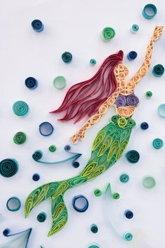 Quilled Prinzessin Kreationen inspiriert Probe von TheAmethystAngle