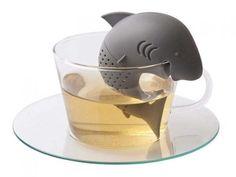 My Tea Infuser - Super Adorable Shark-Shaped Tea Filter and Infuser Cute Shark, Baby Shark, Shark Bait, Tea Infuser, Tea Strainer, Shark Week, My Tea, Herbalism, Tea Cups