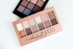 Sonia Kashuk Eye Couture Maybelline The Blushed Nudes