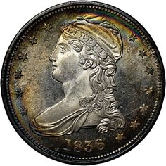 EARLY HALVES - 1836 REEDED GR-1 50C MS A-1 Jewelry & Coin 1827 W. Irving Pk. Rd. Chicago, IL 773-868-0300 https://www.facebook.com/a1jewelryandcoin http://a1jewelryncoin.com