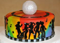 Get Down Disco Cake