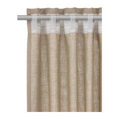 Linen Curtains On Pinterest Curtains White Linen