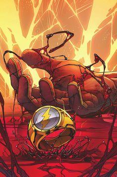 The Flash - Comics by comiXology Flash Comics, Arte Dc Comics, Heros Comics, Dc Comics Characters, Comic Books Art, Comic Art, Flash Wallpaper, Univers Dc, Comic Character