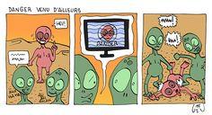 uzunagaz: Alien venu d'ailleurs