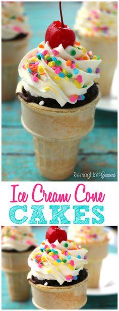 Ice Cream Cone Look