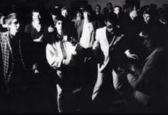 The Who dancing at The Scene Club, London. 1964