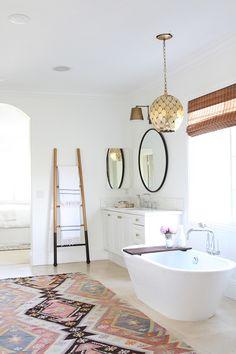 Nest Studio: Sunny Moroccan Bathroom