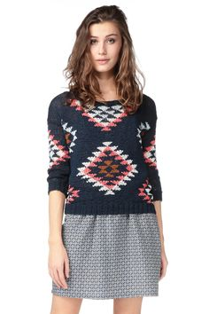 cb477374d6ad2b Jumper - 115-3340 - Blue   Navy American Outfitters on MonShowroom.com