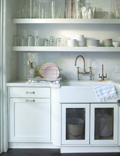 Kitchen Inspiration by decor8, via Flickr  pastels in the kitchen