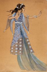 The Magic Flute (Pamina). National Arts Centre Opera. Costume design by Peter Rice. 1975