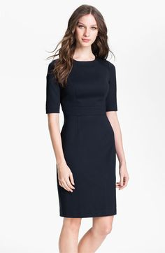 Trina Turk Monarch - one of my favorite work dresses is back this season in Navy and Camel!