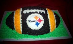 Never liked the idea if a grooms cake... But maybe an engagement party cake? Or maybe just a Super Bowl cake :)
