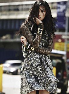 Tao Okamoto by James Macari for Cosmopolitan July 2013