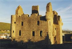 Scalloway Castle is a tower house in Scalloway, on the Mainland of Shetland, off the north coast of Scotland. The tower was built in 1600 by Patrick Stewart, 2nd Earl of Orkney, during his brief period as effective ruler of Shetland.