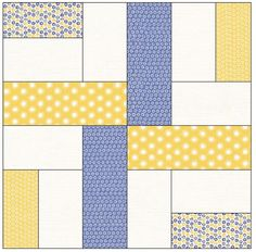 The Double Crossed Quilt is a wonderful pattern for beginner quilters looking for a simple and quick lap quilt pattern to work on over the weekend. Lap Quilt Patterns, Jelly Roll Quilt Patterns, Beginner Quilt Patterns, Quilting For Beginners, Pattern Blocks, Simple Quilt Pattern, Patchwork Patterns, Jellyroll Quilts, Lap Quilts