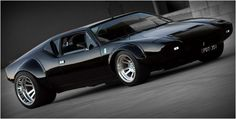 Detomaso Pantera, the forgotten supercar