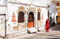 Udaipur. #Udaipur #travel #India #photography #Rajasthan #mural