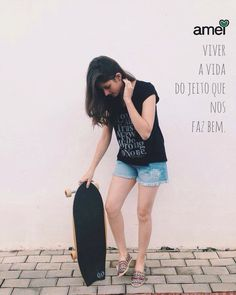 VIVER  #lojaamei #viver #skate #shorts #alpargata #leve
