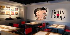 First official Betty Boop diner opens in Tokyo. For complete news visit - https://lnkd.in/fKqs3Vk