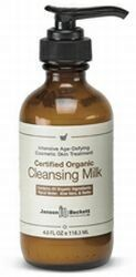 ORGANIC CLEANSING MILK BY JANSON BECKETT (4 OZ.) by Janson Beckett. $14.45. Promotes deep, gentle cleansing of the skin. Natural and effective makeup remover. Perfect for all skin types. Perfect for all skin types, our Organic Cleansing Milk contains certified organics and vegetable extracts that promote deep, gentle cleansing of the skin. Pores are flushed and skin refreshed. Also a natural and effective makeup remover.