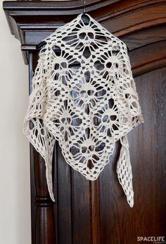 Another DIY Crochet  Skull Scarf