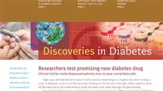 Saving cells - research pairs diabetes and cancer researchers