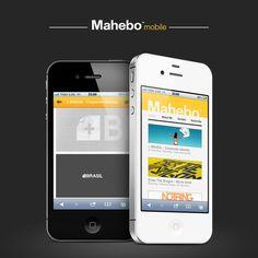 Mahebo™ - Mobile site by Mauro Hernández, via Behance