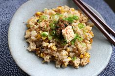 Japanese Grilled Soy Corn Millet Rice