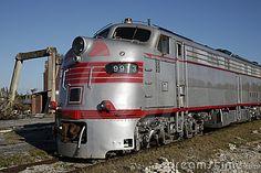 Electromotive e9 diesel locomotiva elétrica
