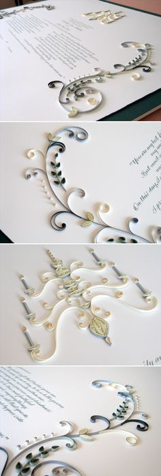 Quilling - beautiful! *so wanting to start doing this again!*